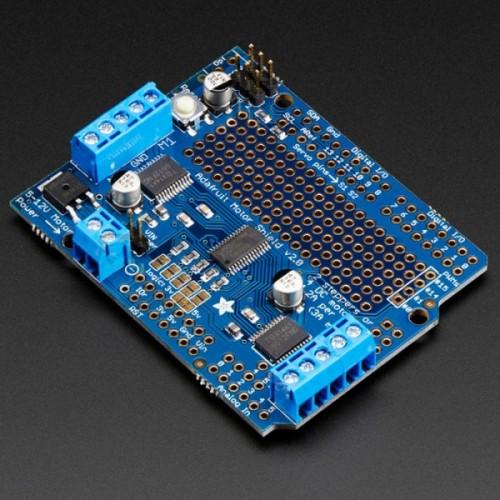 Adafruit motoras/servo/žingsninių variklių priedėlis Arduino v2 rinkiniui