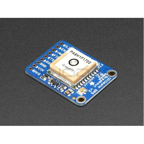 Adafruit Ultimate GPS modulis - 66 kanalai w/10 Hz 3.0-5.5V 25mA