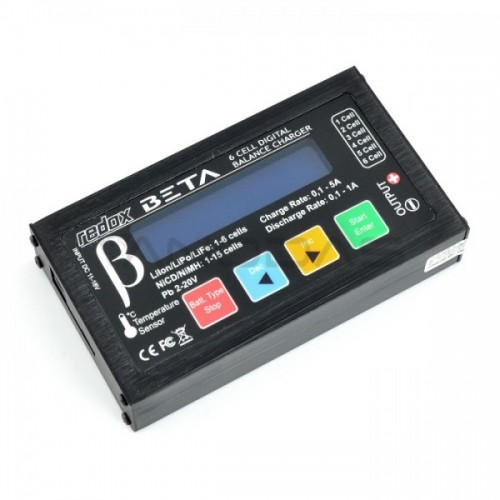 Battery Charger LiPo / LiFe / LiIon / NiCD /NiMH  - Redox Beta