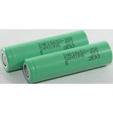 Rechargeable battery 18650 3.7V 2500mAh 20A Li-ion SAMSUNG INR 18650 25R