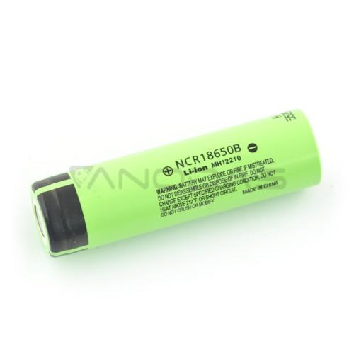 Battery 18650 Li-Ion Panasonic NCR-18650B 3400mAh