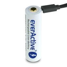 Akumuliatorius EverActive su micro USB 18650 3200mAh (apsaugotas) - 7A