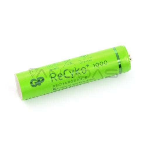 Battery GP ReCyko+ 1000 R3 AAA Ni-MH- 950mAh - 2pcs.