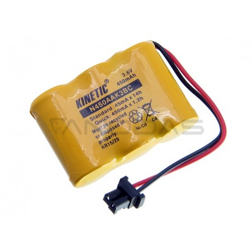 Akumuliatorius Kinetic Ni-Cd 2/3R6 3.6V 450mAh