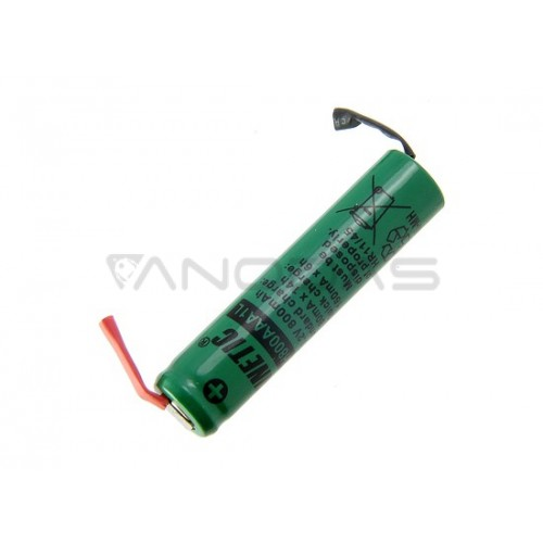 Akumuliatorius Kinetic R3 AAA Ni-MH 800mAh su litavimo kontaktais