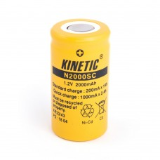 Battery Kinetic SC Ni-MH 1.2V 2000mAh