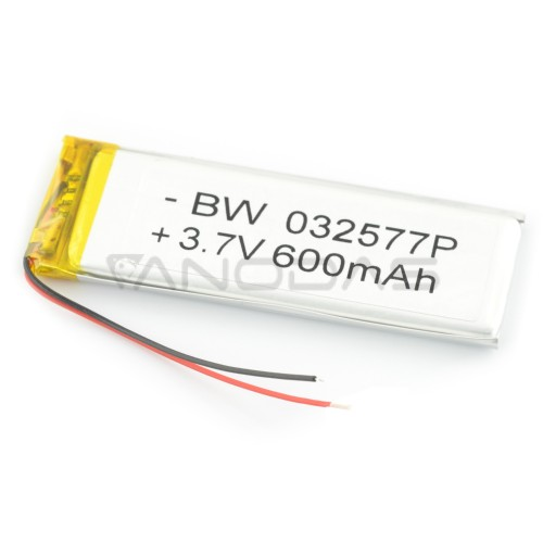 Battery Li-Pol 600mAh 3.7V