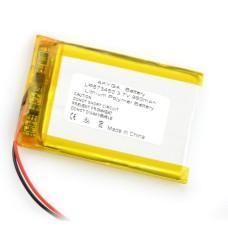 Akumuliatorius Li-Pol Akyga 980mAh 1S 3.7V
