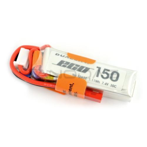 Battery Li-Pol Dualsky 150mAh 30C 2S 7.4V ECO-S