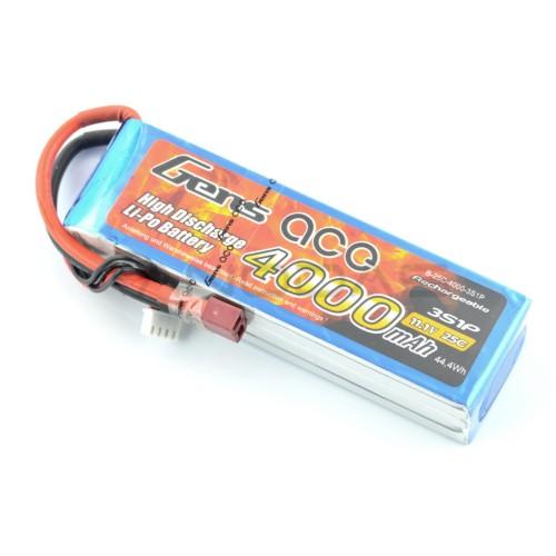 Battery Li-Pol Gens Ace 4000mAh 25C 3S 11.1V
