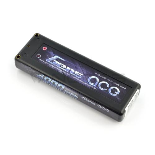 Akumuliatorius Li-Pol Gens Ace HardCase 4000mAh 30C 2S 7,4V