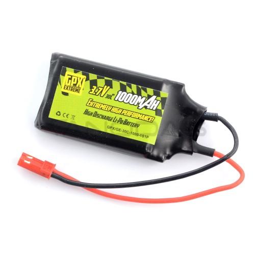 Battery Li-Pol GPX Extreme 1000mAh 30C 1S 3,7V