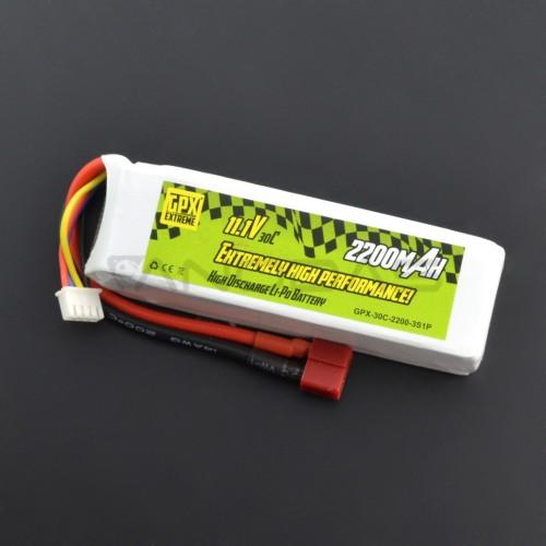 Battery Li-Pol GPX Extreme 2200mAh 30C 3S 11.1V