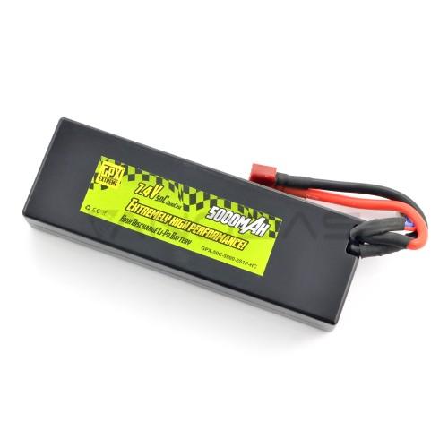 Battery Li-Pol GPX Extreme 5000mAh 50C 2S 7.4V