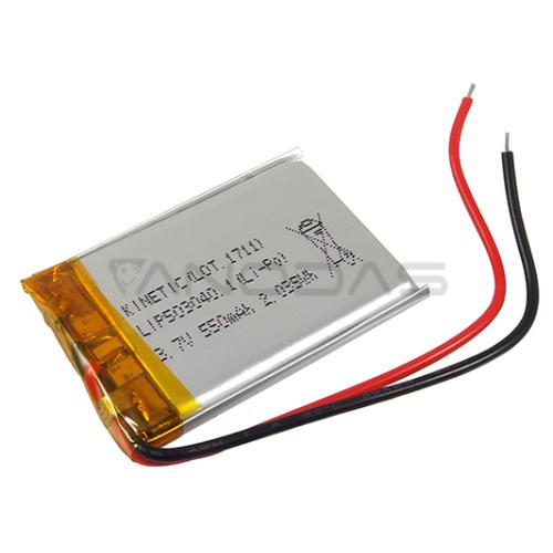 Battery Li-Pol KINETIC 550mAh 3.7V