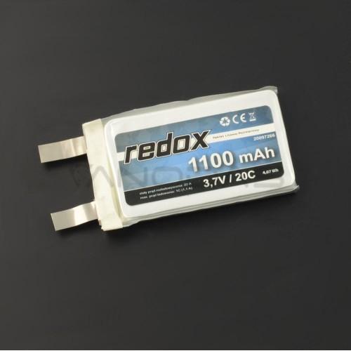 Akumuliatorius Li-Pol Redox 1100mAh 3.7V 20C