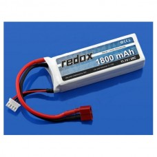 Akumuliatorius Li-Pol Redox 1800mAh 20C 3S 11.1V