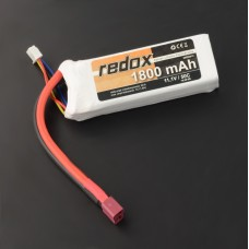 Akumuliatorius Li-Pol Redox 1800mAh 50C 3S 11.1V