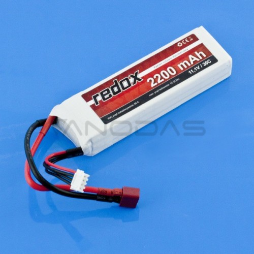 Akumuliatorius Li-Pol Redox 2200mAh 30C 3S 11.1V