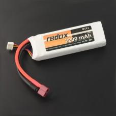 Akumuliatorius Li-Pol Redox 2200mAh 50C 3S 11.1V