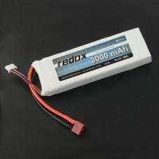 Akumuliatorius Li-Pol Redox 3000mAh 20C 3S 11.1V