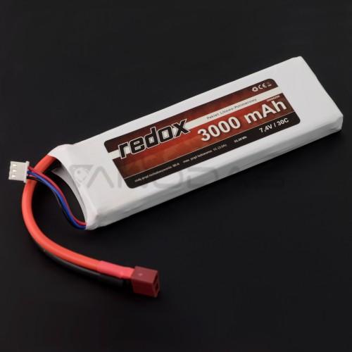 Battery Li-Pol Redox 3000mAh 30C 2S 7.4V