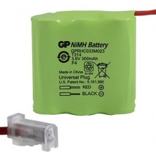 Rechargeable battery Ni-MH 2/3AAA 2/3R3 3.6V 300mAh T314