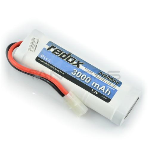 Battery NiMH Redox 3000mAh 7.2V