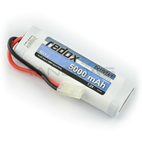 Battery NiMH Redox 5000mAh 7.2V