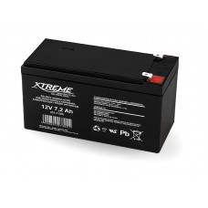 Rechargeable Battery XTREME 7.2Ah 12V