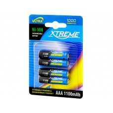 Battery XTREME R3 Ni-MH AAA 1100mAh (4pc.)