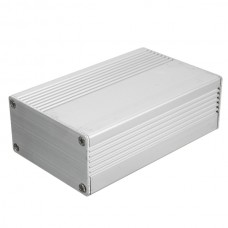 Aluminum Electronic DIY Project case 100x74x29mm - silver