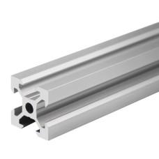 Aliuminio profilis V-SLOT 2020 - 500mm ilgis sidabrinis
