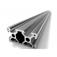 Aliuminio profilis V-SLOT 2040 - 1000mm ilgis sidabrinis
