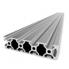 Aliuminio profilis V-SLOT 2080 - 500mm ilgis sidabrinis