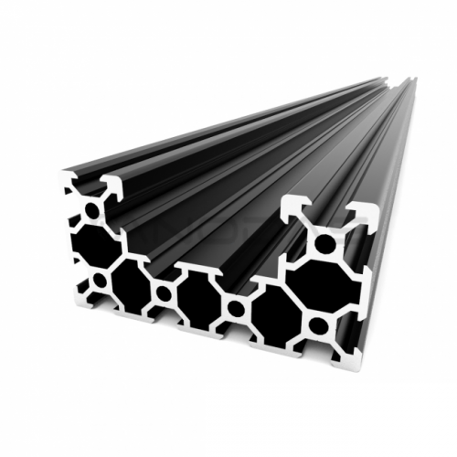 Aliuminio profilių segmentas C-BEAM 250mm ilgio