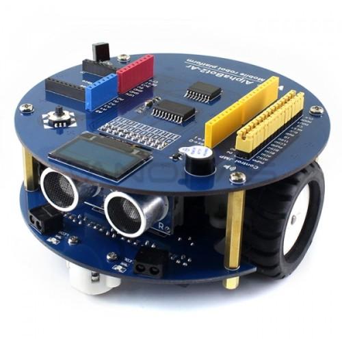 AlphaBot2 - Ar Acce Pack - 2 Ratų Roboto Važiuoklė su Jutikliais DC Varikliais ir OLED Ekranu