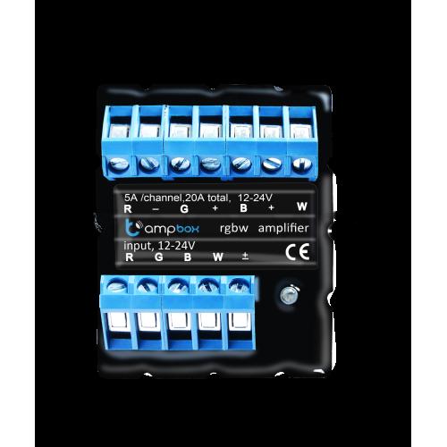 ampBox - LED juostų stiprintuvas