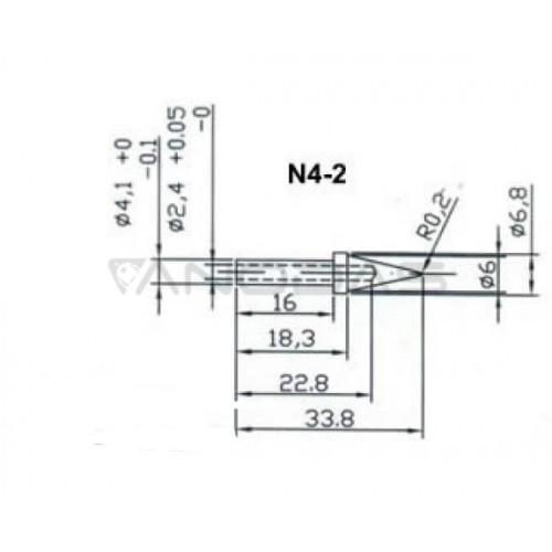 Antgalis lituokliui ZD-916 - N4-2