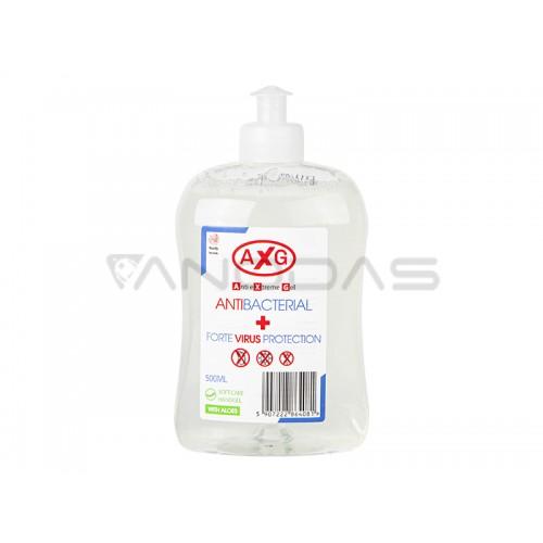 Antibakterinis rankų gelis AXG 500ml