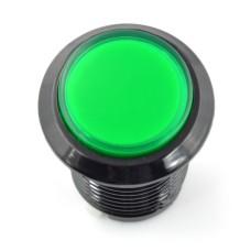 Arcade Push Button 3.3cm - žalias su pašvietimu