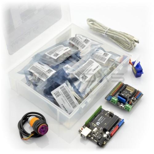 Ardublock Kit - Arduino Startinis Rinkinys Grafiniam Programavimui