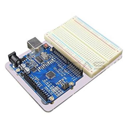 Arduino Uno R3 Akrilinis Padas