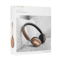 Baseus Earphone Bluetooth Encok D01 Wireless Gold