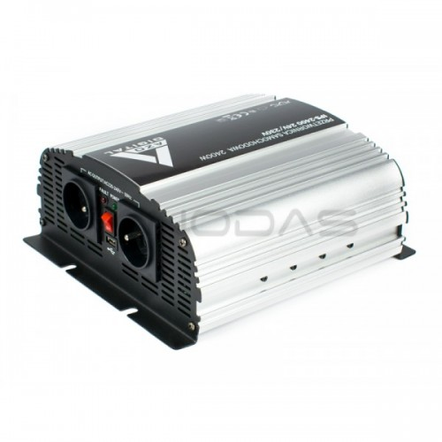 Inverteris DC/AC AZO Digital IPS-2400 24/230V 2400W