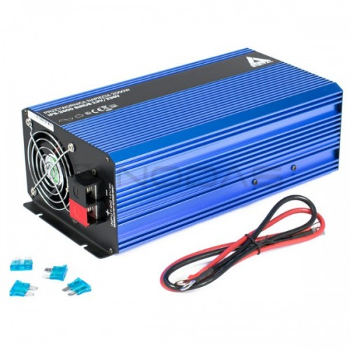 Inverteris DC/AC AZO Digital IPS-2000S 12/230V 2000W