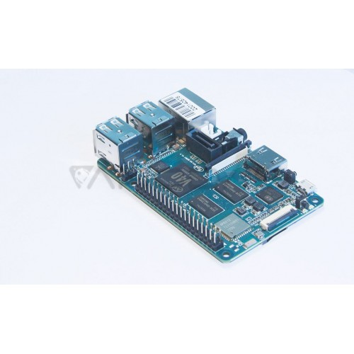 Banana Pi M2 Berry 1GB RAM Quad-Core WiFi Mikrokompiuteris