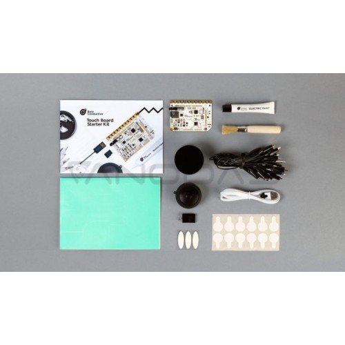 Bare Conductive Touch Board Starter Kit - Suderinamas su Arduino