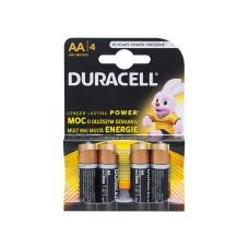Baterija 1.5V AA DURACELL (4vnt.)