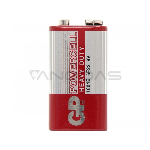 Baterija 6F22 POWERCELL GP 9V (1 vnt.)